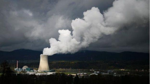 سويسرا مفاعل نووي